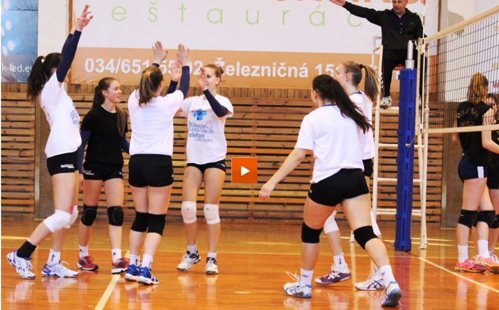 Prep match video in Senica