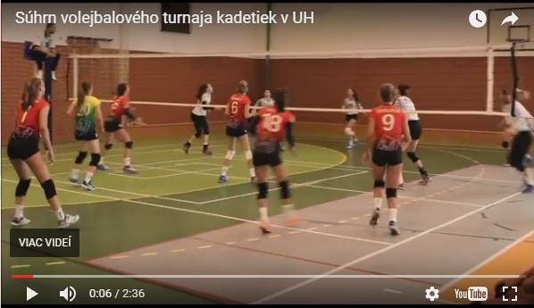 súhrn turnaja kadetiek MVK v UH