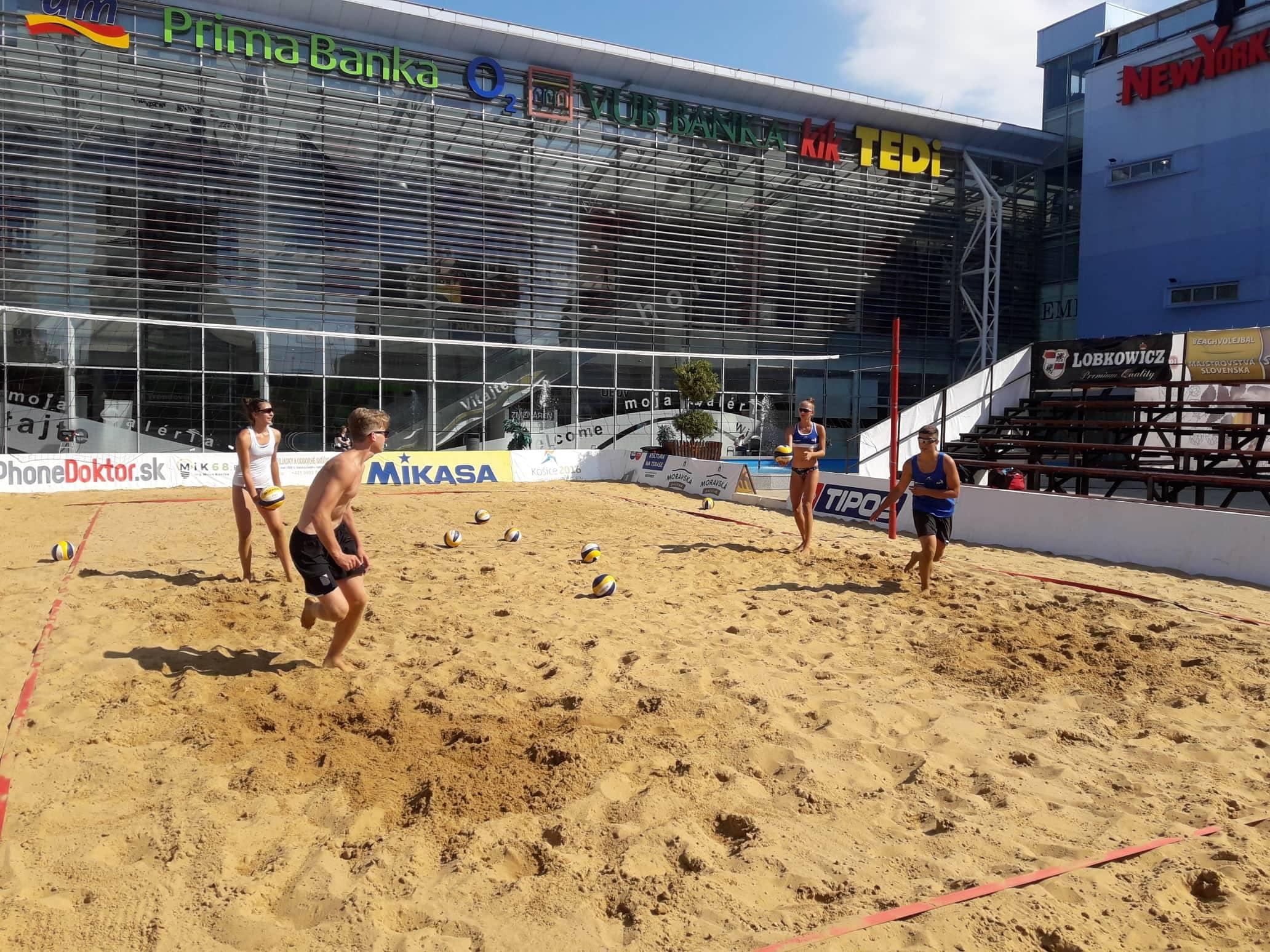 A+ beach turnaj Košice