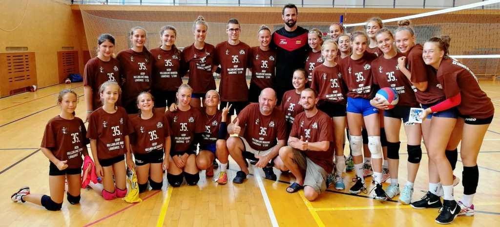 Hviezdy svetového volejbalu v Luhačoviciach