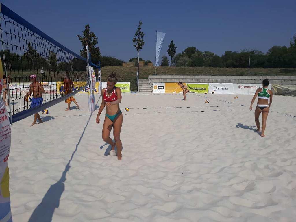 beach tréning MVK v Brne