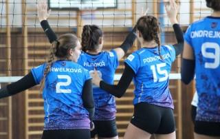volejbal junirky MVK vs. UKF Nitra