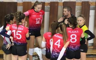 volejbal kadetky MVK Nové Mesto nad Váhom