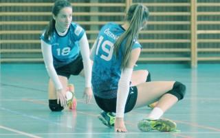 volejbal juniorky MVK vs. COP