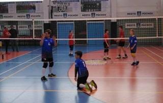 MINI volejbal chlapci