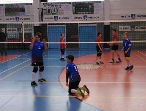 Turnaj v MINI volejbale žiaci Púchov