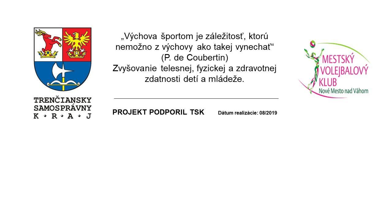 Projekt finančne podporil TSK