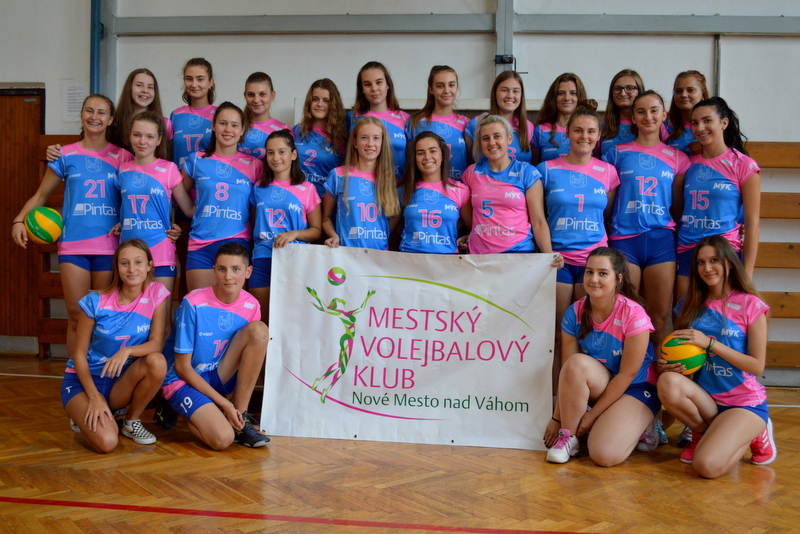 Juniorky MVK Nové Mesto nad Váhom