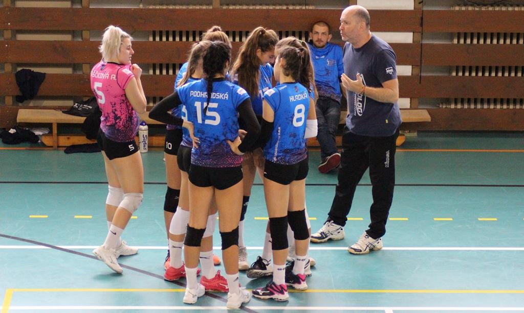 volejbal juniorky MVK Nové Mesto nad Váhom