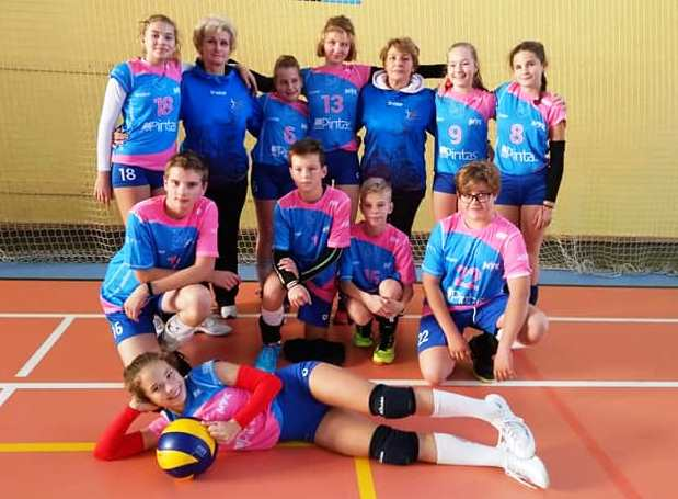 mladší žiaci volejbal MVK Nové Mesto