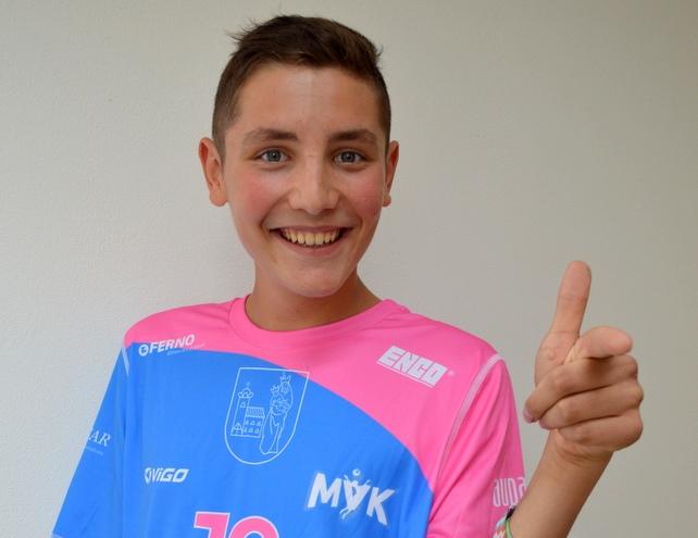 Lucas Jedlička vo výbere reprezentácie chlapcov 2005 a ml.