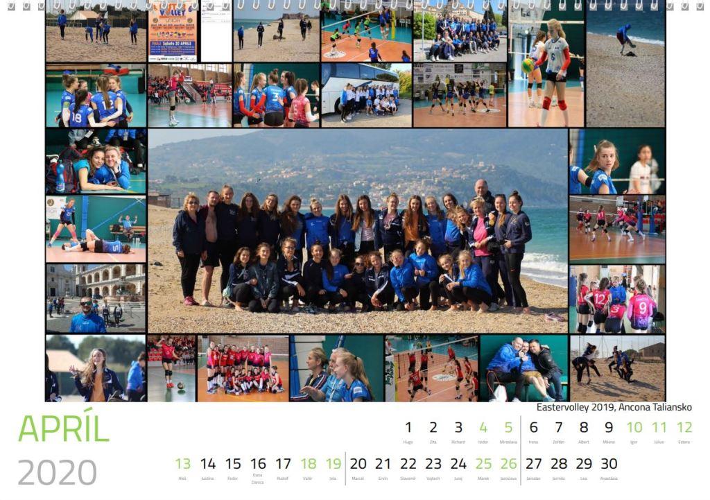 volejbal apríl kalendár MVK 2020