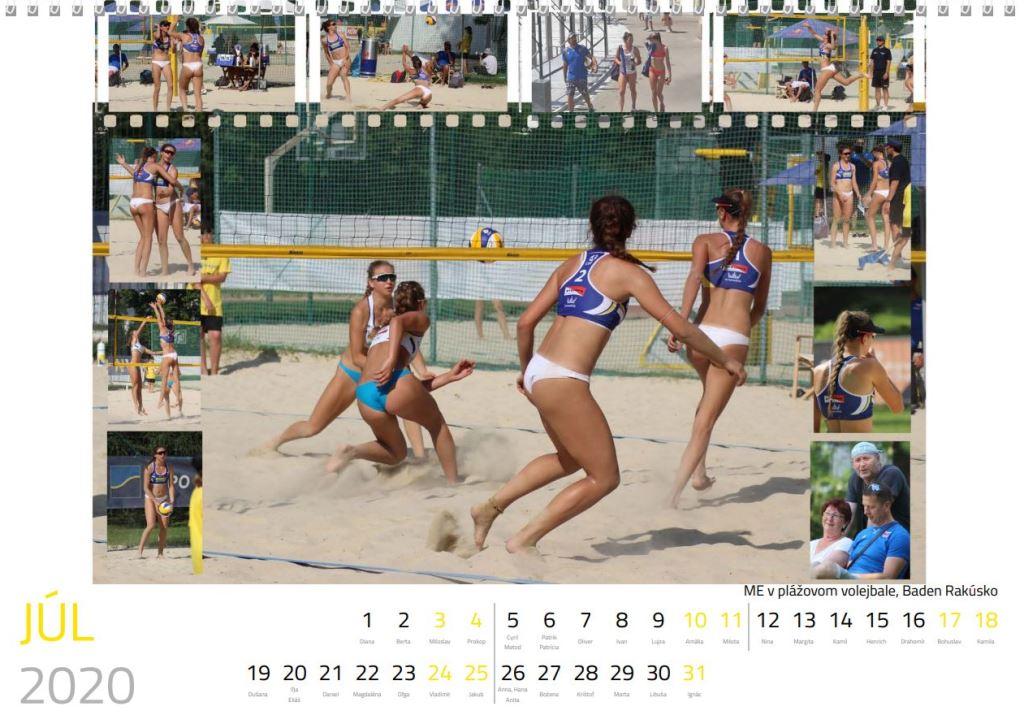 volejbal júl kalendár MVK 2020
