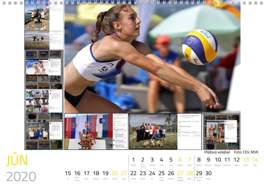 volejbal jún kalendár MVK 2020