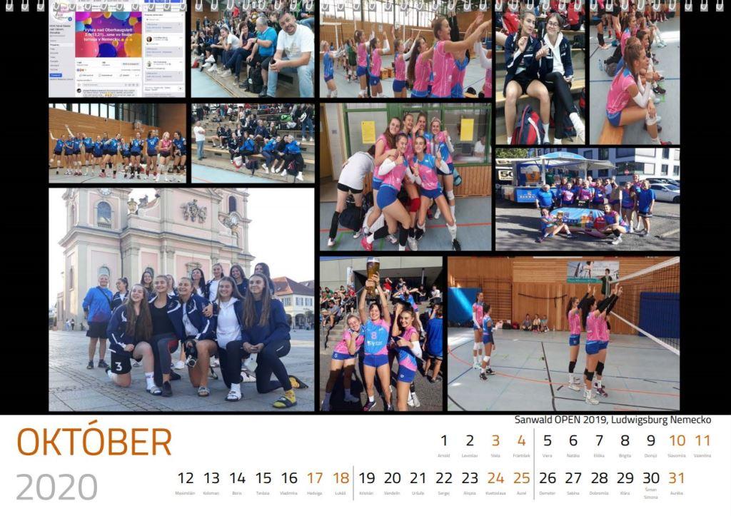 volejbal oktober kalendár MVK 2020