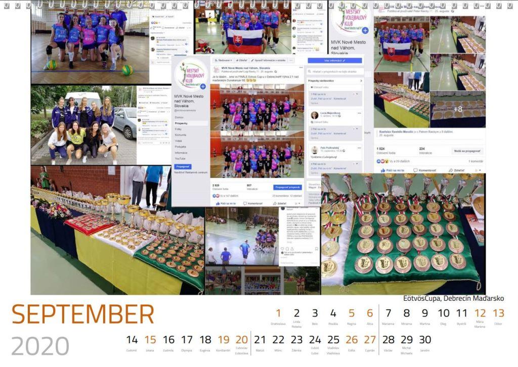 volejbal september kalendár MVK 2020