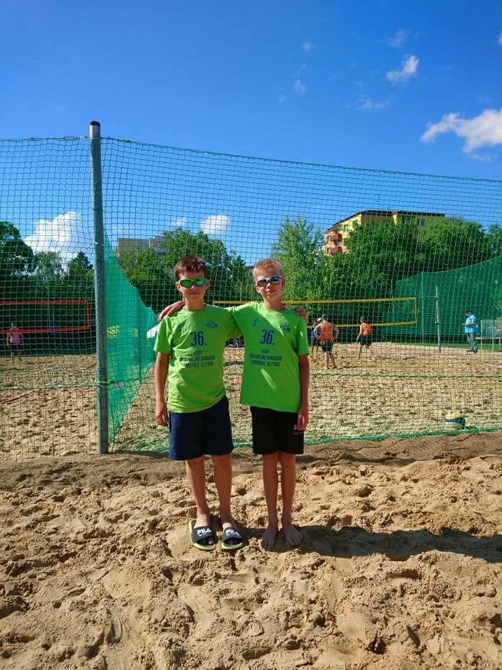 beach chlapci MVK Nové Mesto