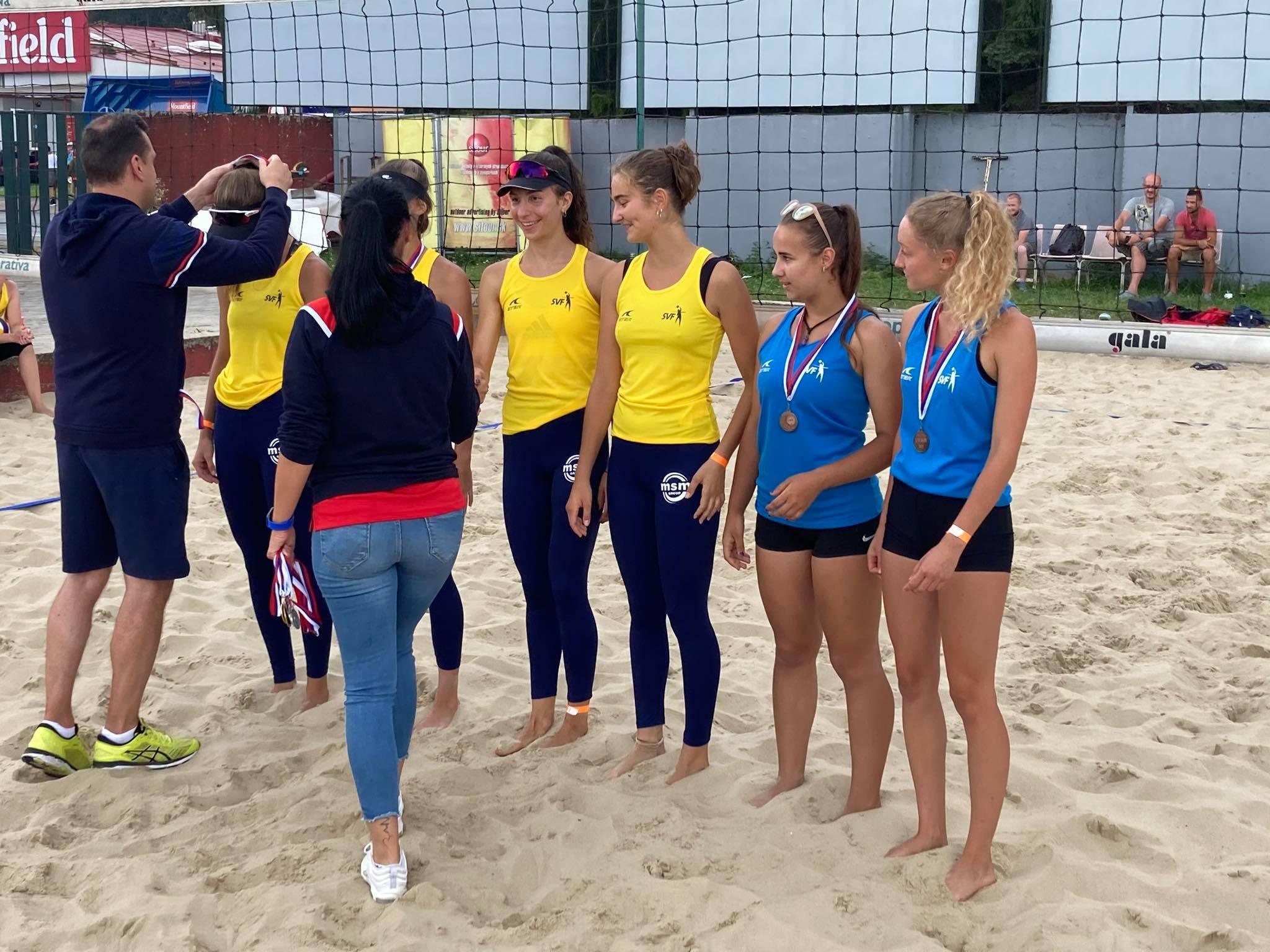 MSR U18 beach Žilina