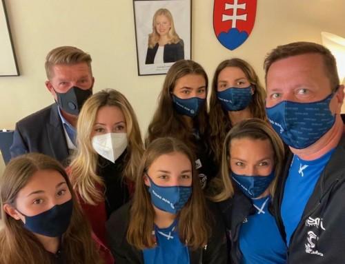 Reprezentantky navštívili slovenský konzulát v Monaku